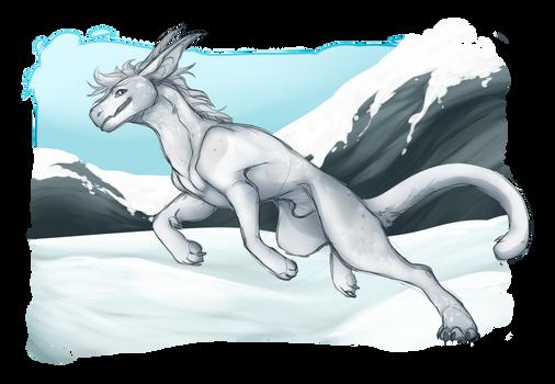 snowy boi