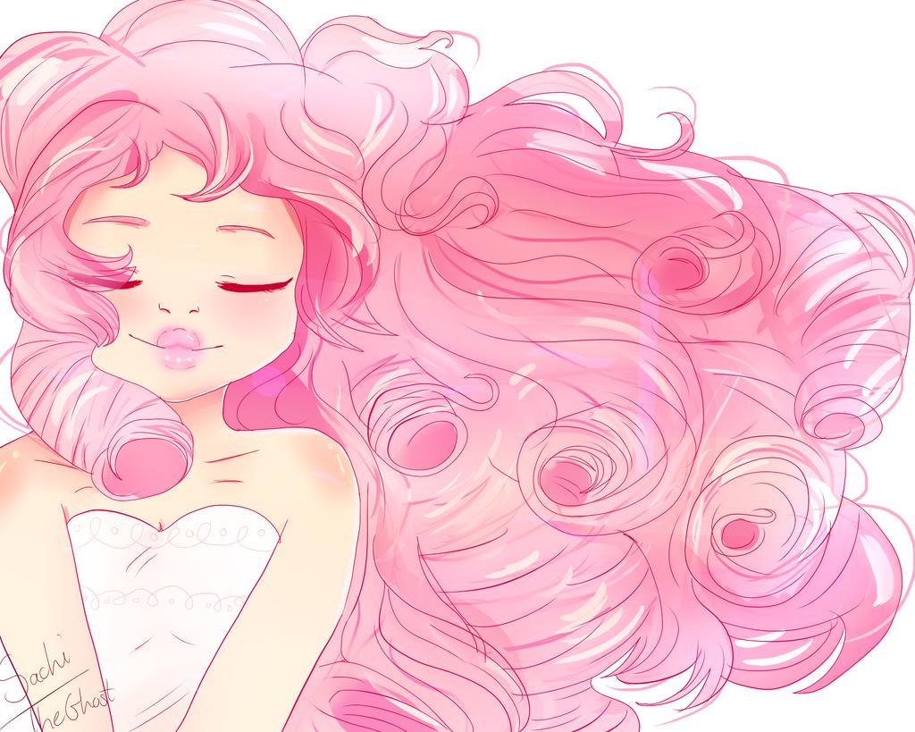 Steven Universe Sketch Rose: [STEVEN UNIVERSE] The Beautiful Rose Quartz! By Sachiiii