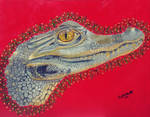 Alligator by PhyllisMastersArt