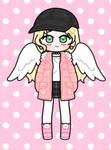 Cute girl ,my try in pastel friends