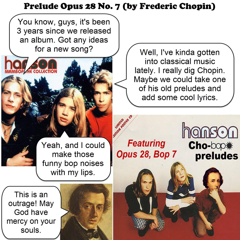 prelude opus 28 no. 7 - chopin - JOKE VARIATION 2 by dgoldish