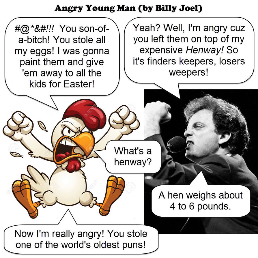 angry young man - billy joel - JOKE by dgoldish on DeviantArt