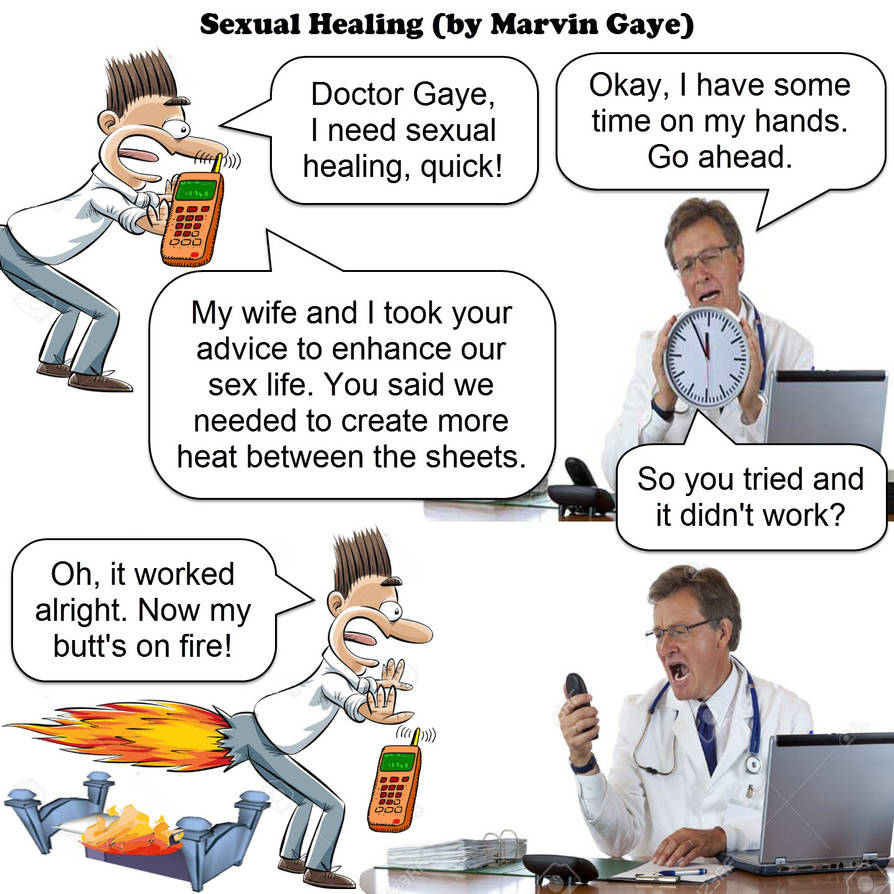 sexual healing - marvin gaye - JOKE by dgoldish ...
