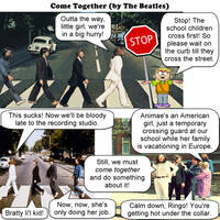 come together - the beatles - JOKE by dgoldish