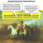 radetzky march - johann strauss- JOKE