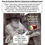 man of constant sorrow - American traditional song
