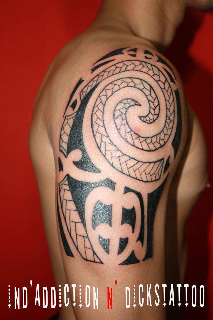 tattoo jakarta,maori tattoo by