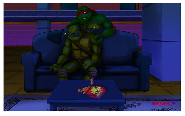 Tmnt Tcri Fanfiction: Tmnt Don And April By Snufflin On