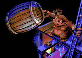 Donkey Kong by oliverlindau
