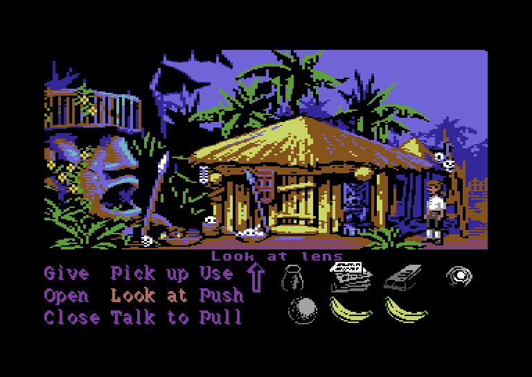Monkey Island 64 mockup by oliverlindau