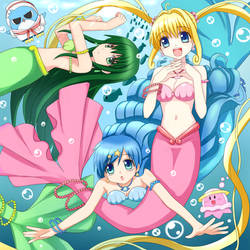 Pichi Pichi Mermaid by Miru-Pitch