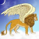 Winged Liger Commission