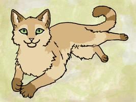 Karmel the Cat by graphiteforlunch
