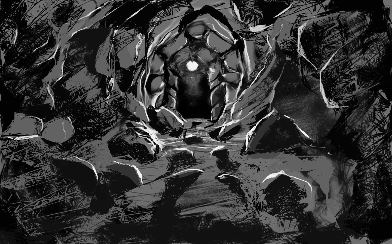 Dark Cave Wallpaper