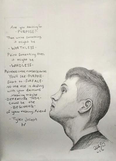 Kitchen Sink Lyrics Art tyler joseph::kitchen sink::clique arthaleytheviolinist on