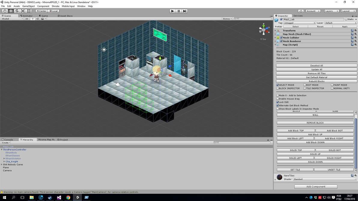 Unity3D Miroma 3 by fshiruba on DeviantArt