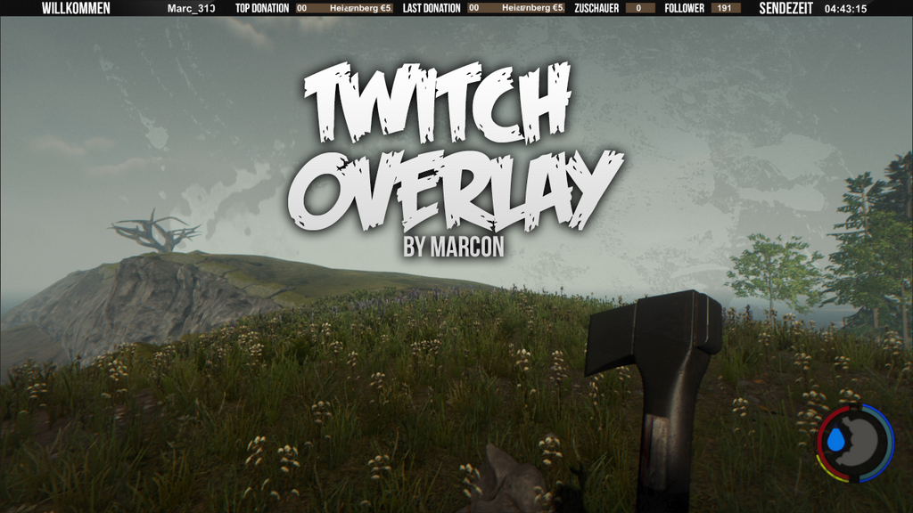 Simple Overlay for Twitch.tv by MARC0N on DeviantArt