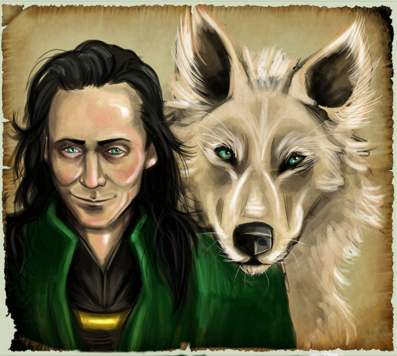 1000+ images about Loki on Pinterest | Loki marvel, The ... |Loki Fenrir