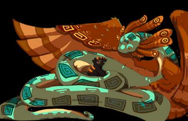 Quetzalcoatl and Tulan