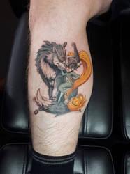 Zelda Tattoo by Stormus55