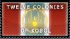 The Twelve Colonies of Kobol by zsoca-san