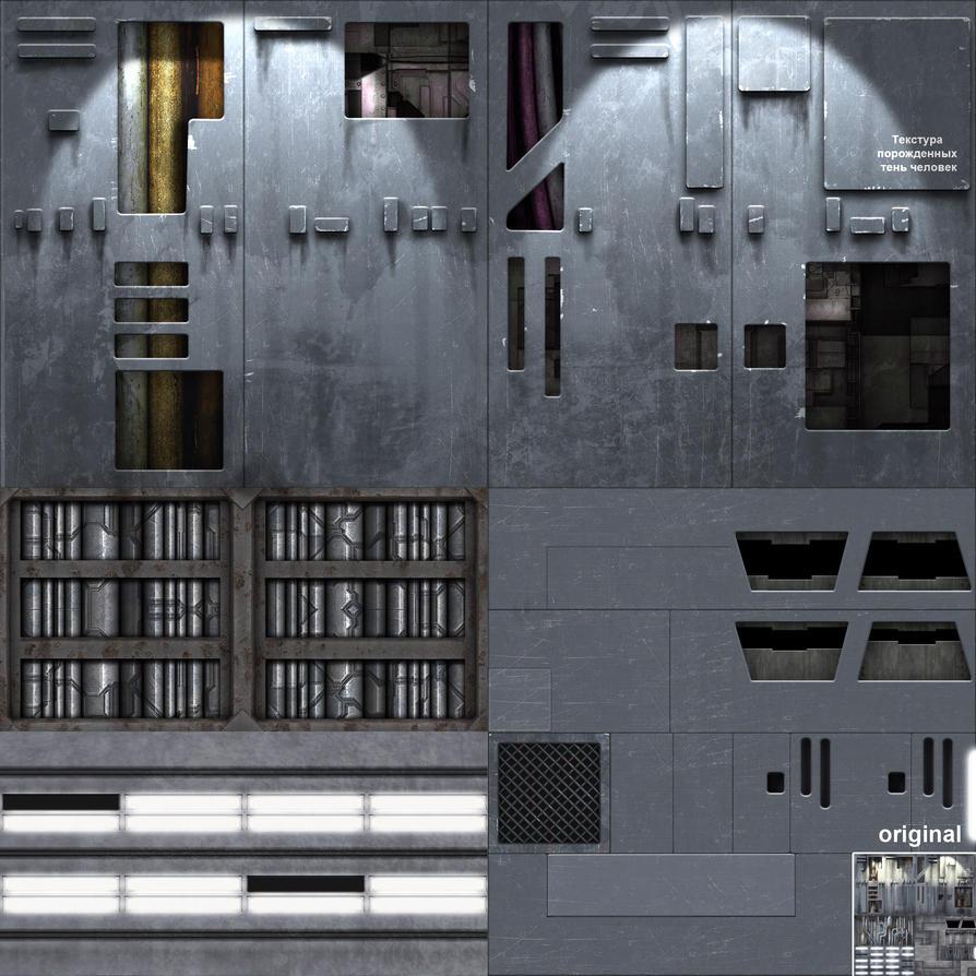 ProjectX retexture (Forsaken). Ship map by dactilardesign ...