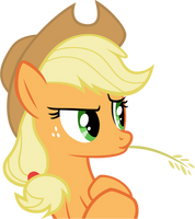 Applejack Suspicious by Emper24