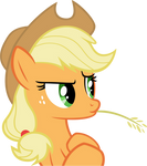 Applejack Suspicious