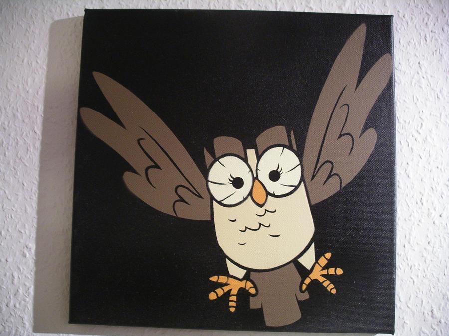 Owloysius Stencil by Emper24