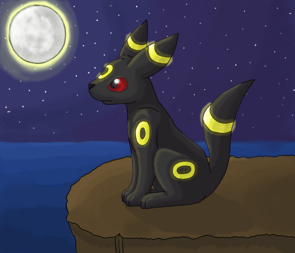 Moonlit Umbreon by GoldFlareon on DeviantArt