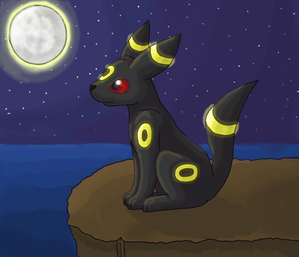 Moonlit Umbreon by GoldFlareon on DeviantArt