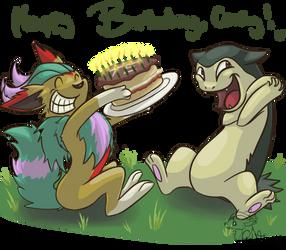 Happy Birthday, Corey! by GoldFlareon