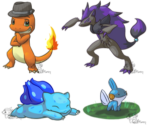 Pokemon Compilation by GoldFlareon