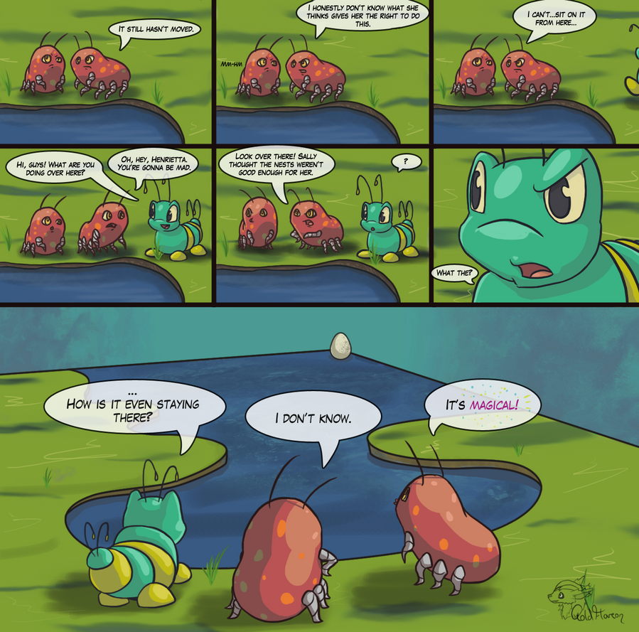 Mystery of the Floating Egg by GoldFlareon
