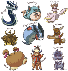Fusion Compilation by GoldFlareon