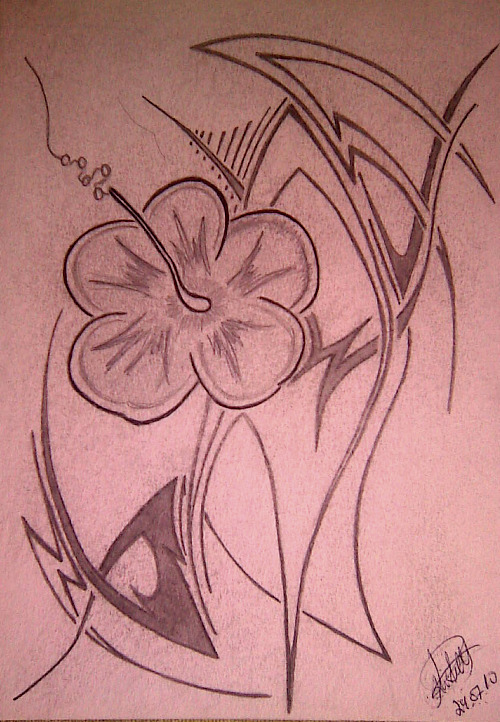Flower. | Flower Tattoo