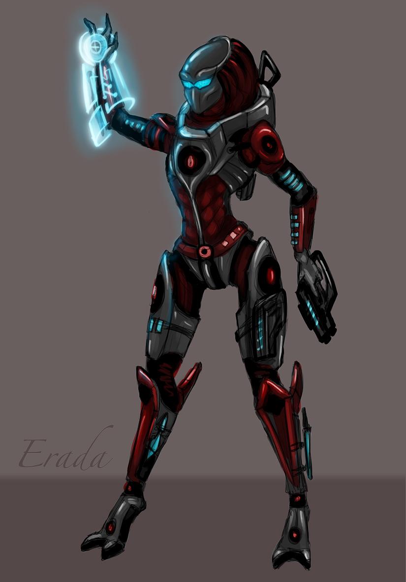 Erada, armor by Yanarada