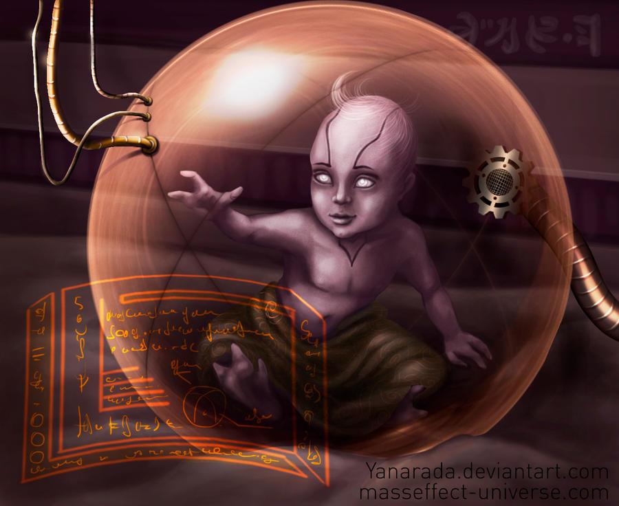 Quarian child by Yanarada