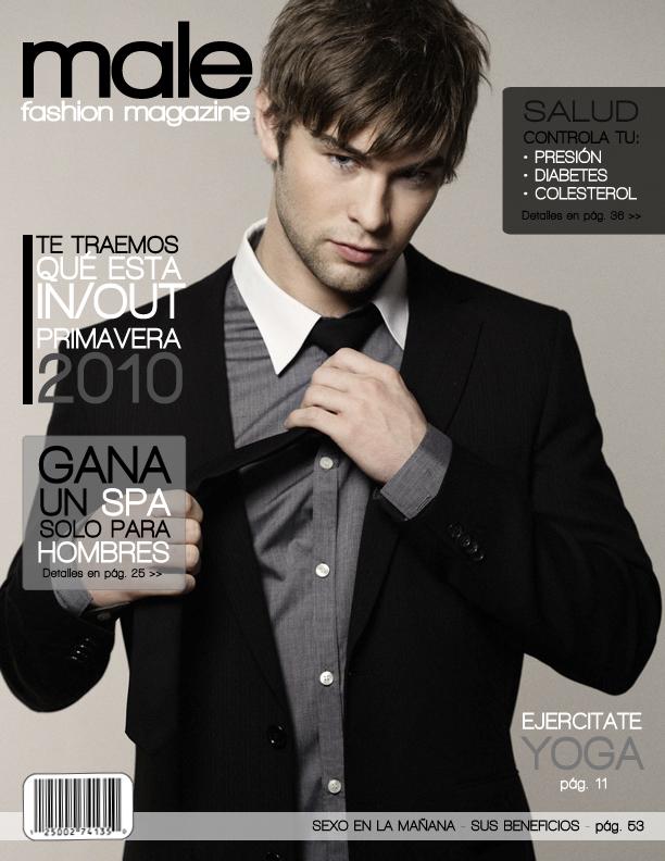 Male fashion magazine 1 by yairalynn on deviantart Revista fashion style magazine