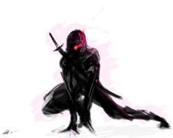 cyber ninja? by glockcock