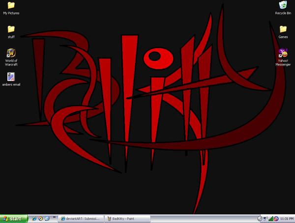 Screenshot of my new Desktop