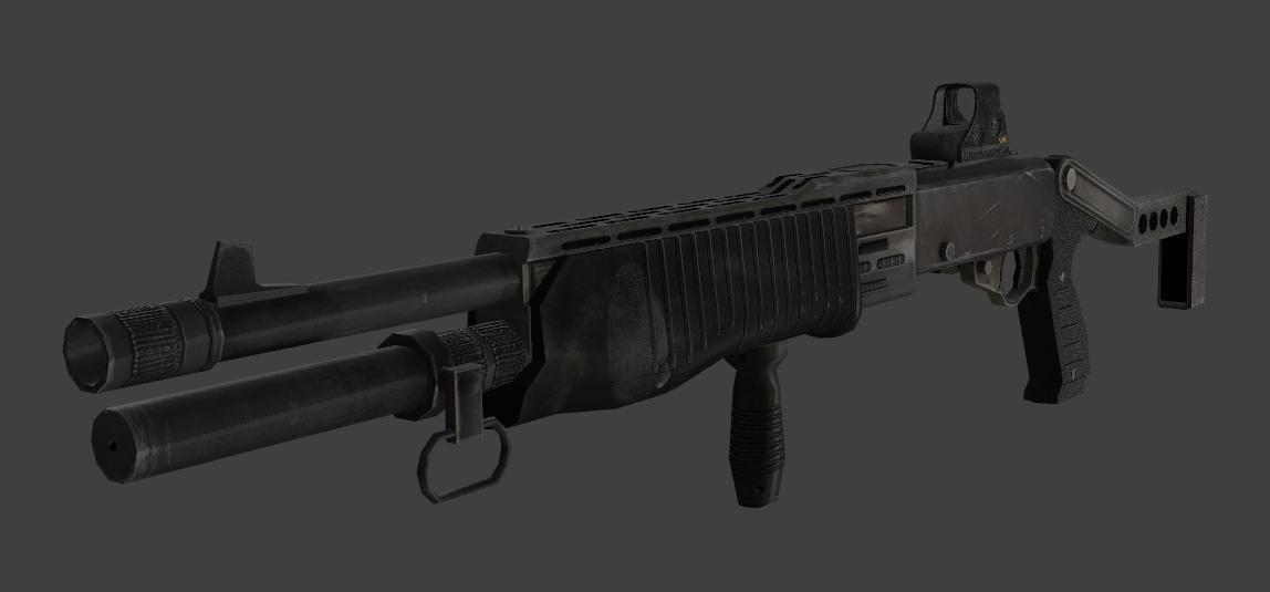 COD MW2: SPAS-12 - Roblox