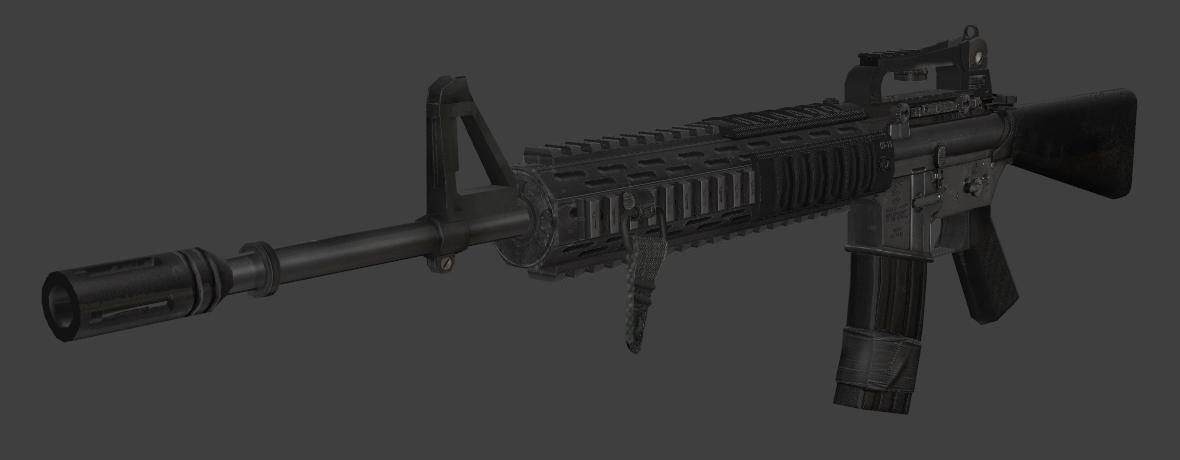 MW2 M16A4 by Sergal636 on DeviantArt M16a4 Mw2