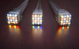 Multicolor nixie tubes