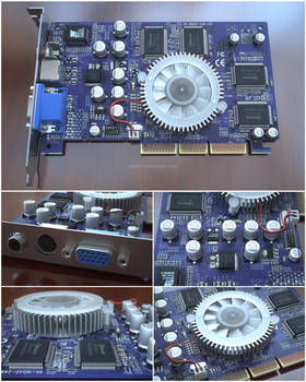 GeForce4 MX460 Video Card