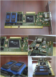 Ancient VGA Card (based on CL-GD5401)