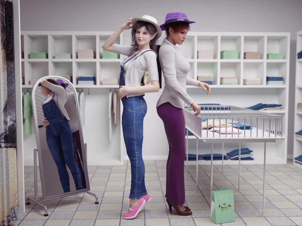 Choosing a hat by pnn32
