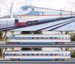 Model of high speed electric multiple unit train