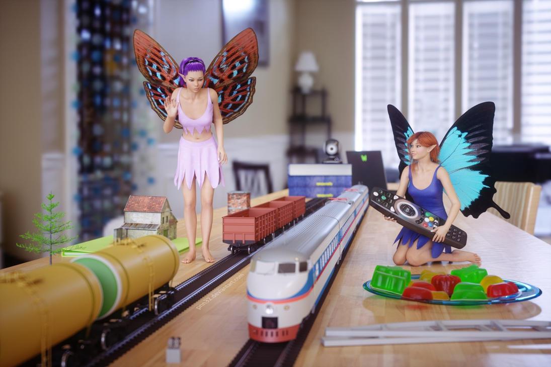 Exploring railroad model by pnn32