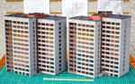 Scale Model of Town Residential Building by pnn32